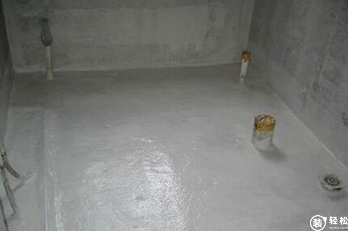 装轻松网 装修知识 防水工程 施工标准 >家装防水施工标准  6,施工