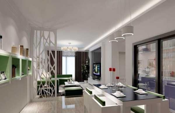小户型餐厅与客厅之隔断设计