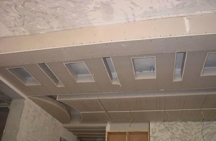 轻钢龙骨石膏板吊顶的施工工艺流程及注意事项