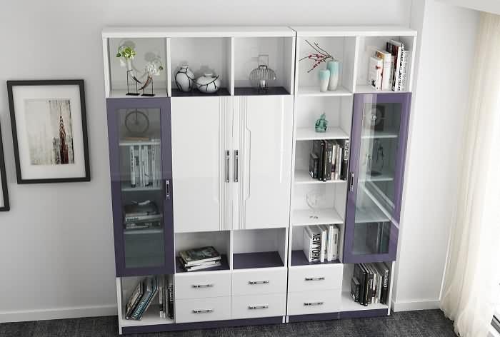 6种常见的书柜样式,看看你家适合哪个图片