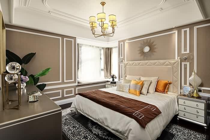背景墙 房间 家居 起居室 设计 卧室 卧室装修 现代 装修 700_468