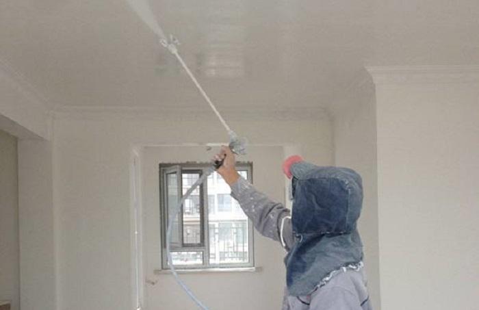 施工标准 >内墙乳胶漆施工工艺之喷涂施工  内墙乳胶漆是室内墙面装修